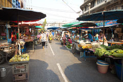 Thailand Fresh market Stock Photos