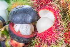 Thailand fruits Royalty Free Stock Photography