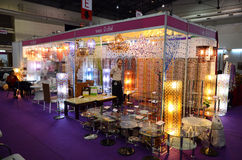 Thailand Furniture Fair Stock Photo