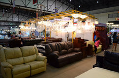 Thailand Furniture Fair Stock Photography