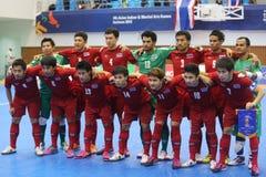 Thailand futsal lag Arkivbild
