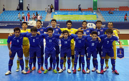 Thailand futsal team Royalty Free Stock Image