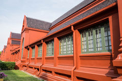 Thailand-Gebäudeanwendung Lizenzfreies Stockbild