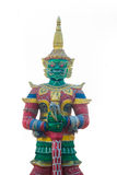 Thailand giant. Giant in Buddhist at Thailand Royalty Free Stock Photos