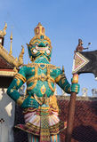 Thailand giant statue Royalty Free Stock Images