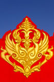 Thailand gold designs Gable Stock Photography