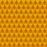 Thailand gold striped pattern Stock Image