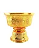 Thailand Gold tray Royalty Free Stock Photo