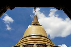 Thailand Golden Temple Royalty Free Stock Image
