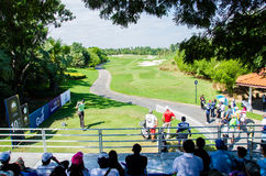 Thailand Golf Championship 2014 Royalty Free Stock Images