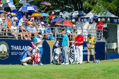 Thailand Golf Championship 2015 Royalty Free Stock Images
