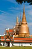 Thailand Grand Palace. Detail of Grand Palace stupas, Bangkok, Thailand Royalty Free Stock Photography