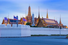 Thailand Grand Palace street view Royalty Free Stock Photo