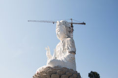 Thailand Guan Yin statue under construction Stock Photos