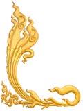 Thailand guld- modell Royaltyfri Bild