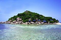 Thailand. Härlig ö. Avkoppling Royaltyfria Foton