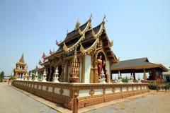Thailand härlig kyrka Royaltyfri Bild