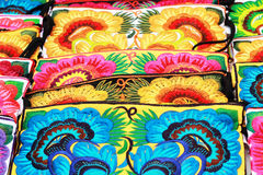 Thailand handmade bags embroidery Royalty Free Stock Photo