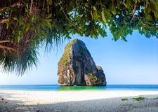 Thailand havstrand royaltyfri foto