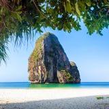 Thailand havstrand arkivbilder