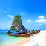 Thailand havstrand royaltyfri bild