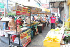 Thailand Hawker Royalty Free Stock Photo