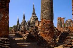 Thailand, Historisch park Sukhothai. Royalty-vrije Stock Afbeelding