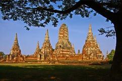 Thailand, Historisch park Sukhothai. Stock Foto's