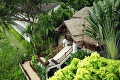 Thailand house on Phuket island Royalty Free Stock Photo