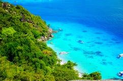 Thailand-Inseln Similans Stockbild