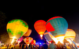 Thailand Internaltion Balloon Festival Royalty Free Stock Photography