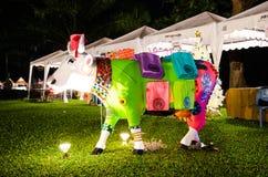 Thailand International Balloon Festival 2013 Stock Image