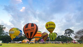 Thailand International Balloon Festival 2014 stock video footage