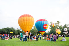 Thailand International Balloon Festival 2013 Royalty Free Stock Photography