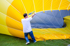 Thailand International Balloon Festival 2013 Royalty Free Stock Photos