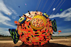 Thailand International Kite Festival 2012 Stock Photo