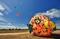 Thailand International Kite Festival 2012 Stock Images