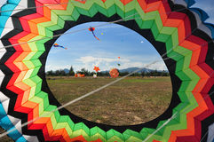 Thailand International Kite Festival 2012 Stock Photography