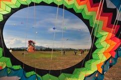 Thailand International Kite Festival 2012 Stock Photos
