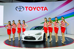 Thailand International Motor Expo 2015 Royalty Free Stock Photography