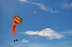Thailand-internationales Drachen-Festival 2012 Lizenzfreies Stockfoto
