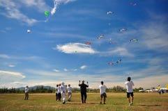 Thailand-internationales Drachen-Festival 2012 Lizenzfreie Stockfotografie