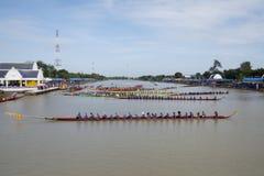 THAILAND ISAN PHIMAI LÅNGT FARTYGLOPP Royaltyfri Bild