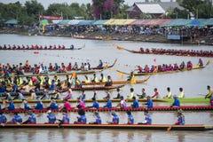 THAILAND ISAN PHIMAI LÅNGT FARTYGLOPP Fotografering för Bildbyråer