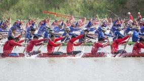 THAILAND ISAN PHIMAI LÅNGT FARTYGLOPP Royaltyfri Foto