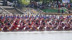 THAILAND ISAN PHIMAI LÅNGT FARTYGLOPP Royaltyfri Fotografi
