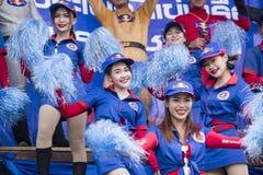 THAILAND ISAN PHIMAI LÅNGT FARTYGLOPP Royaltyfria Foton