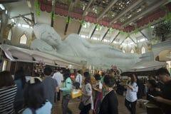THAILAND ISAN UDON THANI WAT PA PHU KON Royalty Free Stock Images