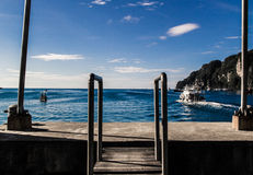 Thailand island. Koh PhiPhi at southern Thailand Royalty Free Stock Images