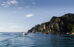 Thailand island. Koh PhiPhi at southern Thailand Stock Image